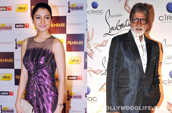 christian louboutin designer lxgd  Amitabh Bachchan and Anushka Sharma meet shoe designer Christian Louboutin