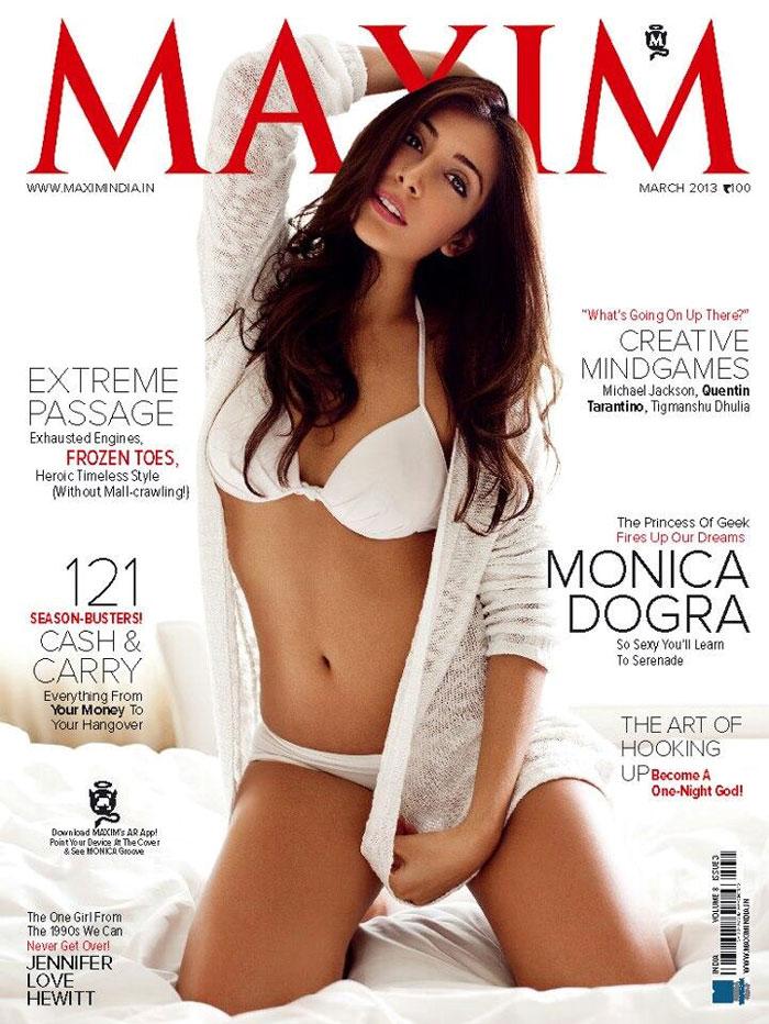 Monica Dogra looks super hot in a spotless white bikini ...