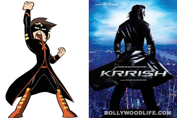 Hrithik Roshans Krrish Now An Animated Series On Cartoon Network