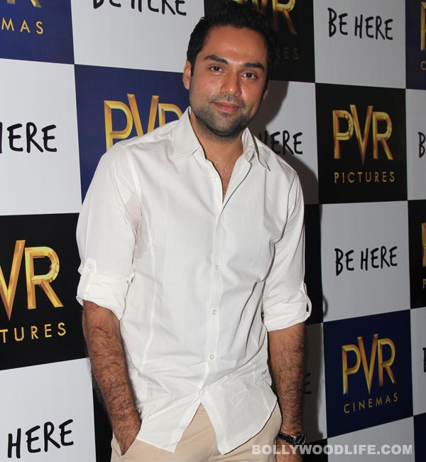 Abhay Deol doesn't want to be associated with Dostana 2!