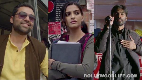 Raanjhanaa song Tu mun shudi: Sonam Kapoor, Dhanush and Abhay Deol are politically charged!