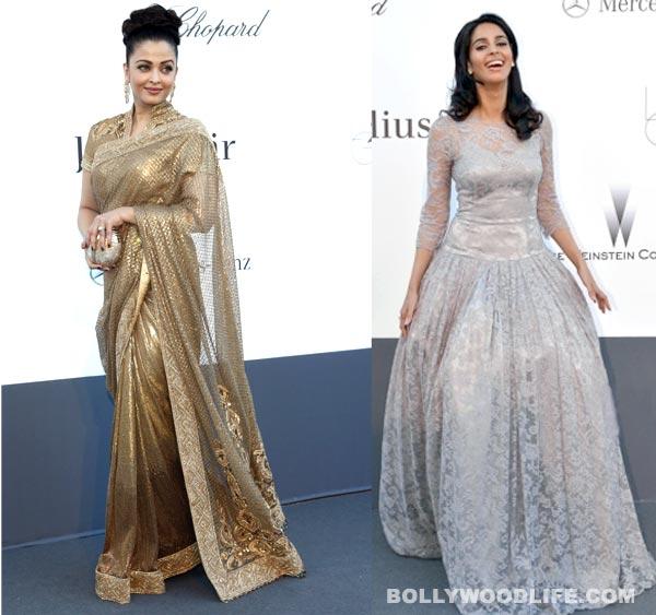 Cannes 2013: Aishwarya Rai Bachchan and Mallika Sherawat take the disastrous route…again!