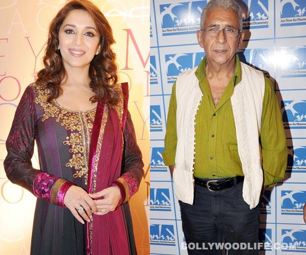 Madhuri Dixit and Naseeruddin Shah to get intimate in Dedh Ishqiya!