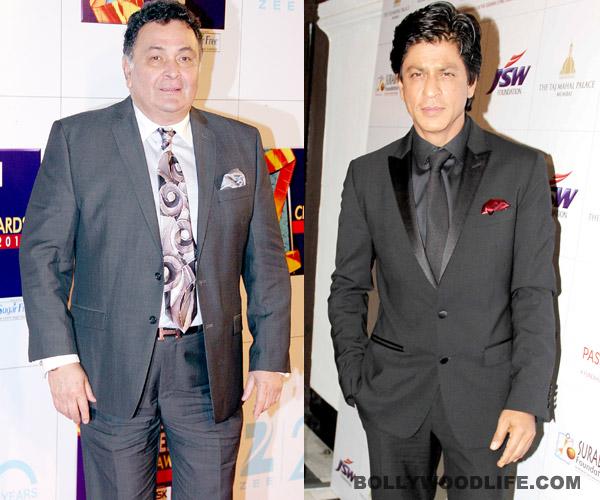 Did Rishi Kapoor take a dig at Shahrukh Khan?
