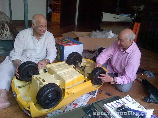 Shilpa Shetty and Raj Kundra gift son Viaan a Lamborghini on his first birthday!