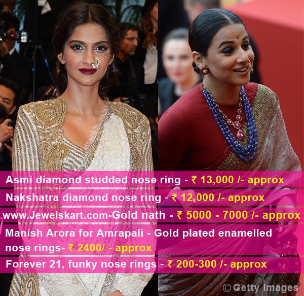 Want to wear oversized naths like Vidya Balan and Sonam Kapoor?