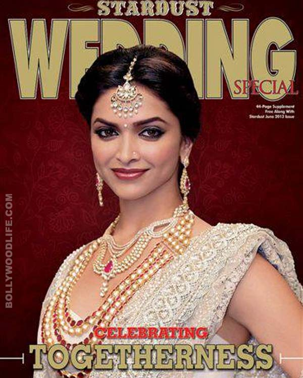 Deepika Padukone turns bride for Stardust wedding edition