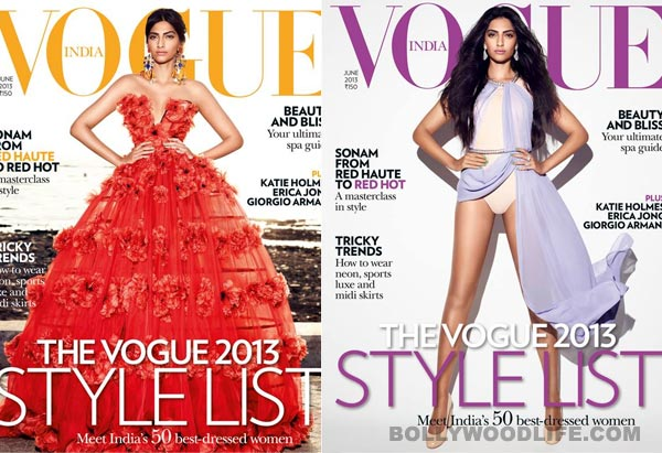 Sonam Kapoor scores a double whammy with Vogue: View pics!