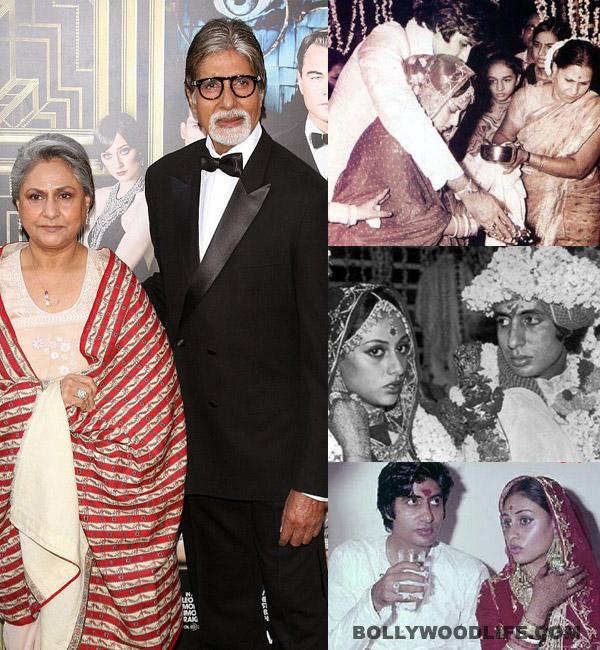 Amitabh Bachchan and Jaya Bachchan celebrate their 40th wedding anniversary today!