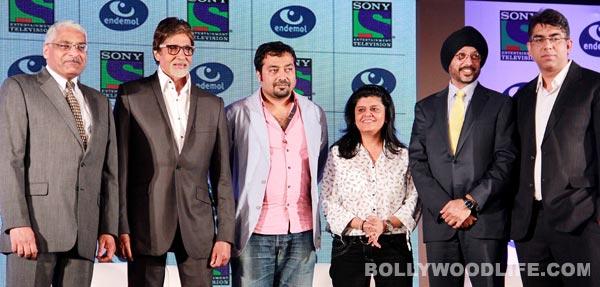 Amitabh Bachchan and Anurag Kashyap team up for fictional show on TV