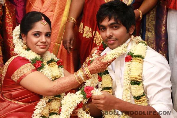 GV Prakash weds Saindhavi in a traditional ceremony - View pics!