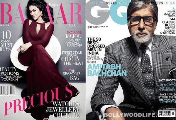 Kajol and Amitabh Bachchan on June covers: The superstars kill it…stylishly!