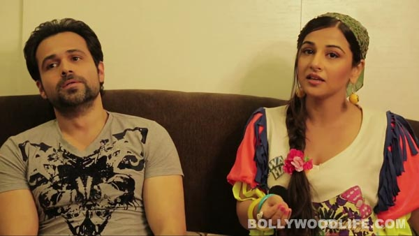 Why does Vidya Balan think Emraan Hashmi is an aalsi ladka?