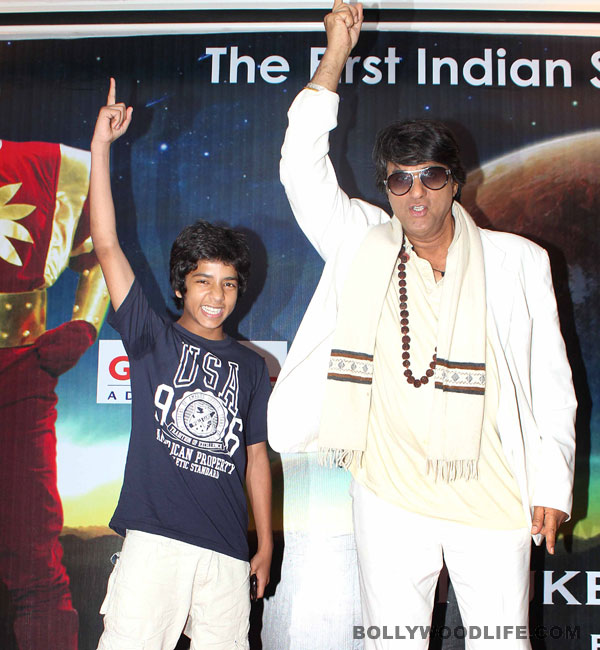 Shaktimaan back on television with junior avatar!