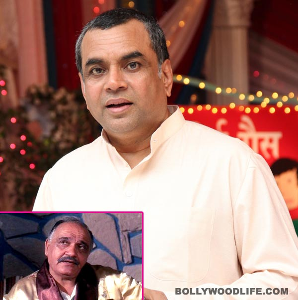 Will Paresh Rawal do justice to Om Prakash's role in Chupke Chupke remake?