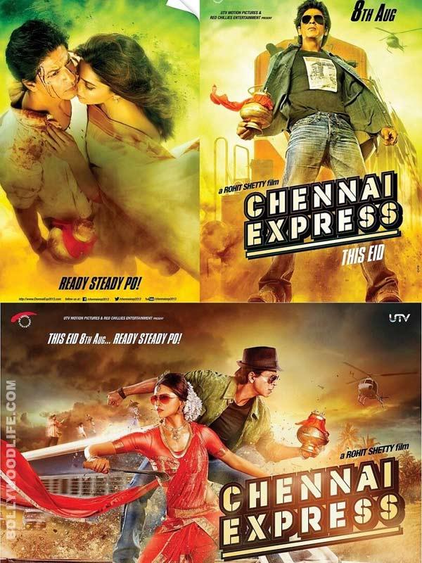Chennai Express new posters: Deepika Padukone gets into a Bharatanatyam costume!