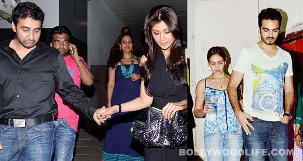 Akshay Kumar-Twinkle Khanna, Shilpa Shetty-Raj Kundra, Esha Deol-Bharat Takhtani spend quality time together