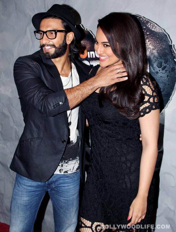 Why did Ranveer Singh spit on Sonakshi Sinha's face?