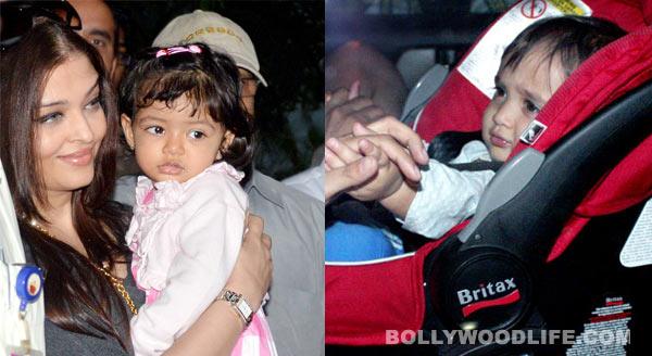 Aaradhya Bachchan and Azad Rao Khan in play school!