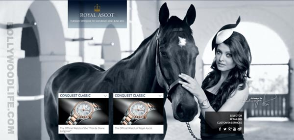 Aishwarya Rai Bachchan classy to the core in new watch ad!