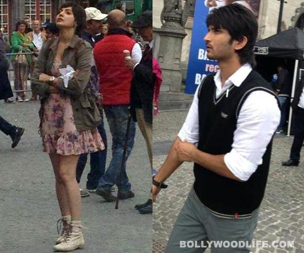 Anushka Sharma and Sushant Singh Rajput shoot P.K. in Belgium: View pics!