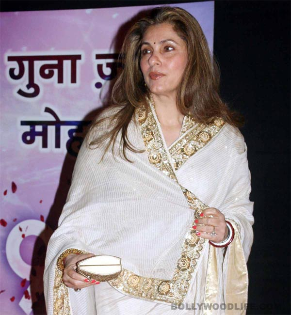 Dimple Kapadia to make her television debut with a daily soap?