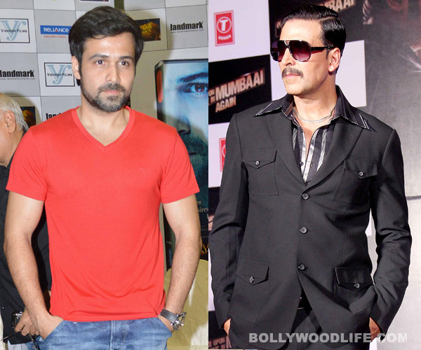 Is Emraan Hashmi unhappy with Akshay Kumar playing his character in Once Upon A Time In Mumbaai Again?