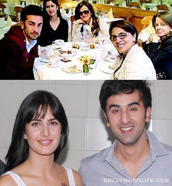 Katrina Kaif dines with Ranbir Kapoor and Neetu Singh!