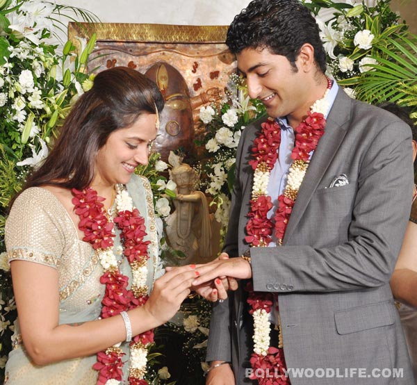 Ahana Deol and Vaibhav Vora's engagement: View pics!