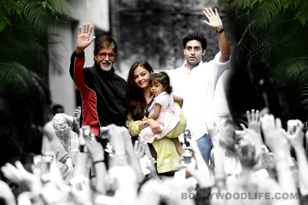 Aaradhya Bachchan meets fans for the first time: view pics!