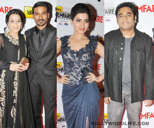 South Filmfare Awards 2012 winners' list: Dhanush, Samantha win big!