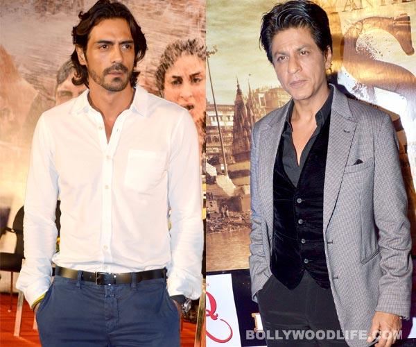 Why is Arjun Rampal afraid to talk about Shahrukh Khan?
