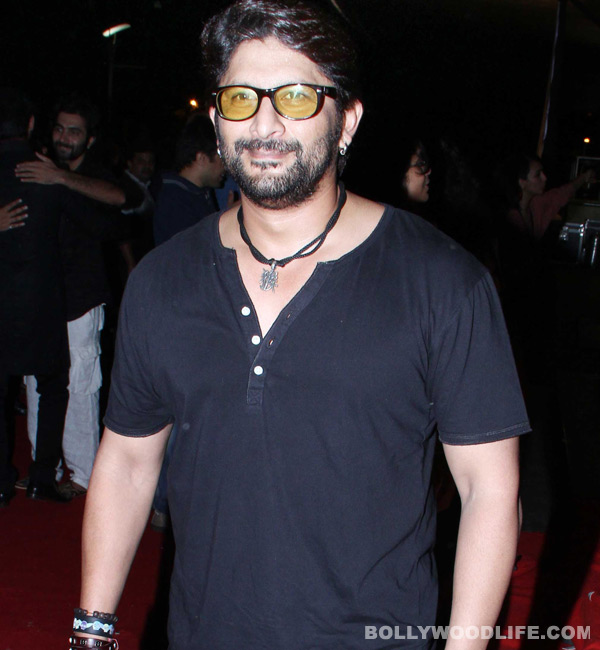 Arshad Warsi: The kissing in Dedh Ishqiya is not as wild as Ishqiya
