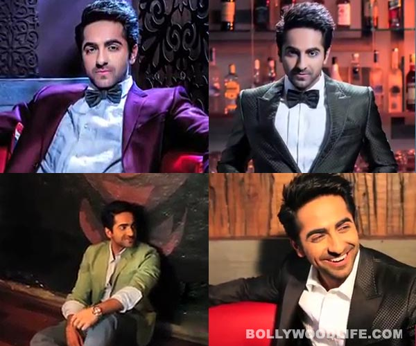 Ayushmann Khurrana shoots for Hello! India: He makes you drool in his funky-classy avatar!