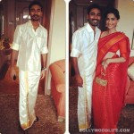 Do you like Dhanush's style statement in a veshti?
