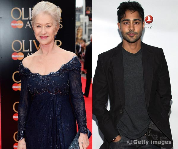 Helen Mirren to take The Hundred-Foot Journey to an Indian restaurant with Manish Dayal