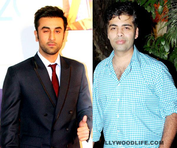Why can't Ranbir Kapoor and Karan Johar stop laughing?