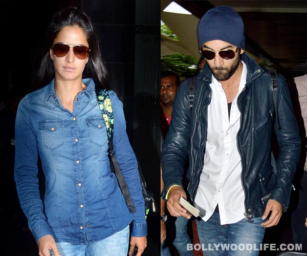 Ranbir Kapoor and Katrina Kaif return from their secret Spanish holiday!