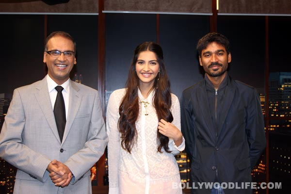 Sonam Kapoor talks about her chemistry with Dhanush on ETC Bollywood Business