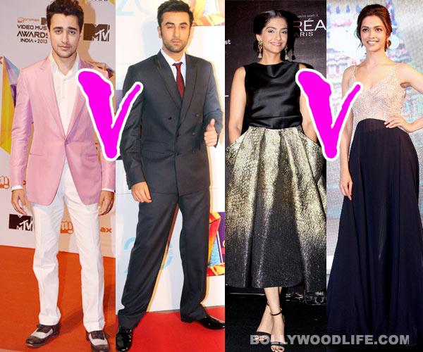 Ranbir Kapoor vs Imran Khan, Deepika Padukone vs Sonam Kapoor, Hrithik Roshan vs Abhishek Bachchan: Bollywood's biggest debut star-wars!