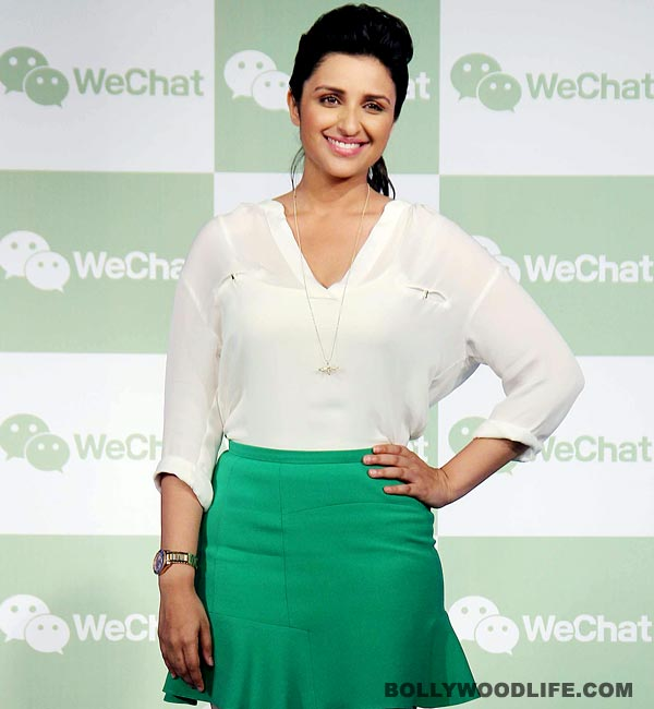 Does Parineeti Chopra get all her gossip from Priyanka Chopra?