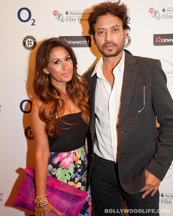 London Indian Film Festival 2013: Irrfan Khan and Preeya Kalidas on the red carpet