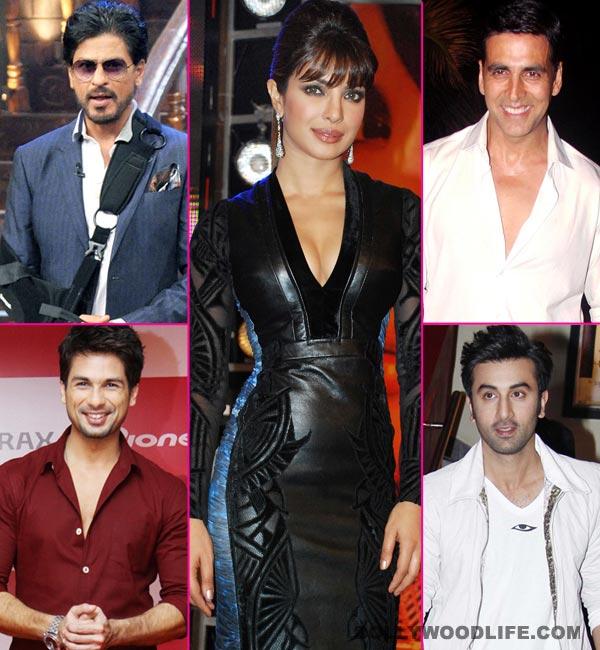 Priyanka Chopra birthday special: Shahrukh Khan or Shahid Kapoor - who is her best onscreen lover?