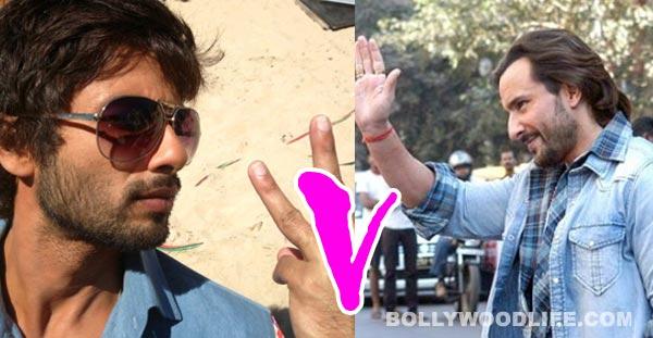 Saif Ali Khan's Bullett Raja vs Shahid Kapoor's Rambo Rajkumar?