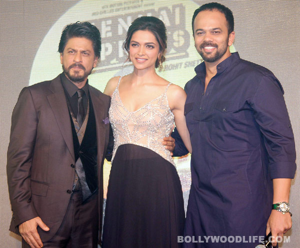 Shahrukh Khan reveals why he's comfortable in a lungi: View Chennai Express music launch pics!