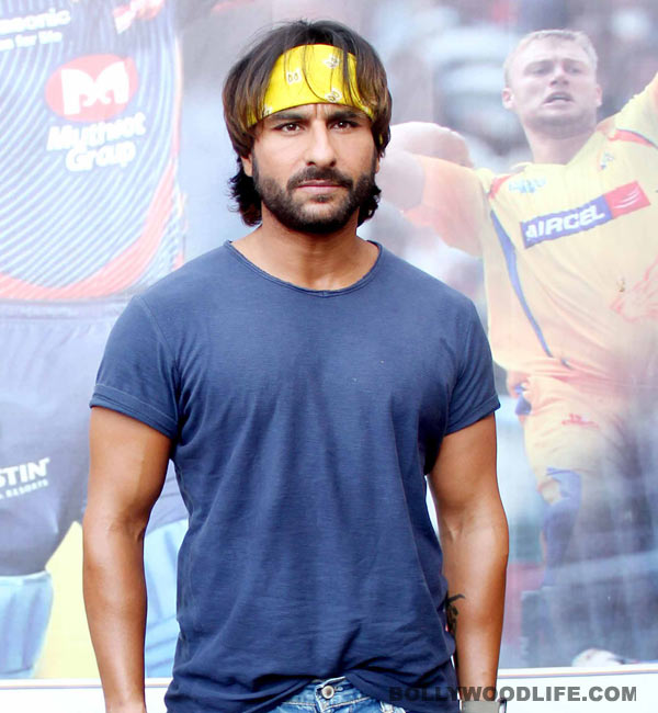 Who is Saif Ali Khan bonding with in USA?