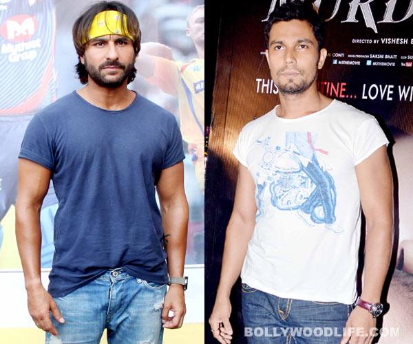 Was Saif Ali Khan supposed to play Randeep Hooda's role in Bad?