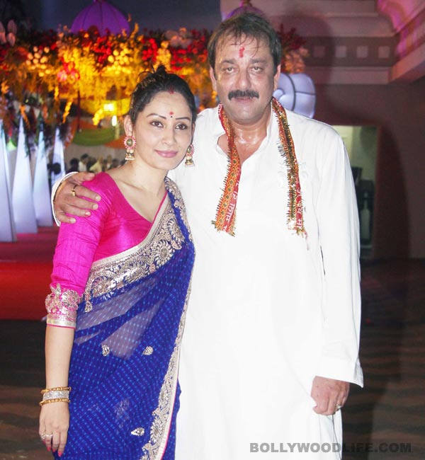 Why did Manyata Dutt not meet Sanjay Dutt on his birthday?