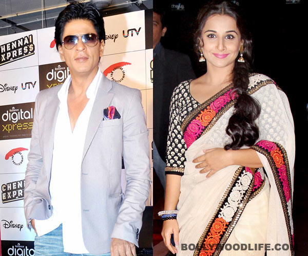Poll results: Shahrukh Khan voted B-town's biggest crowd puller; Vidya Balan is most bankable female actor!