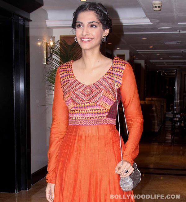Who is Sonam Kapoor's first love?